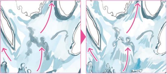 水怎么画?动漫中水的画法教程