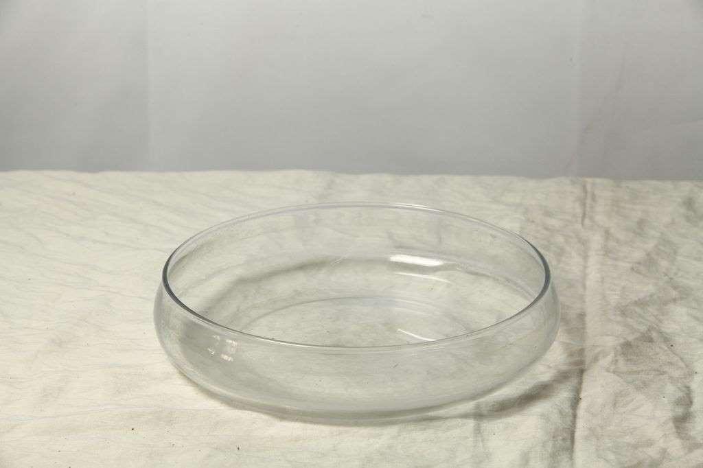 素描玻璃圆盘道具实物图片 超清