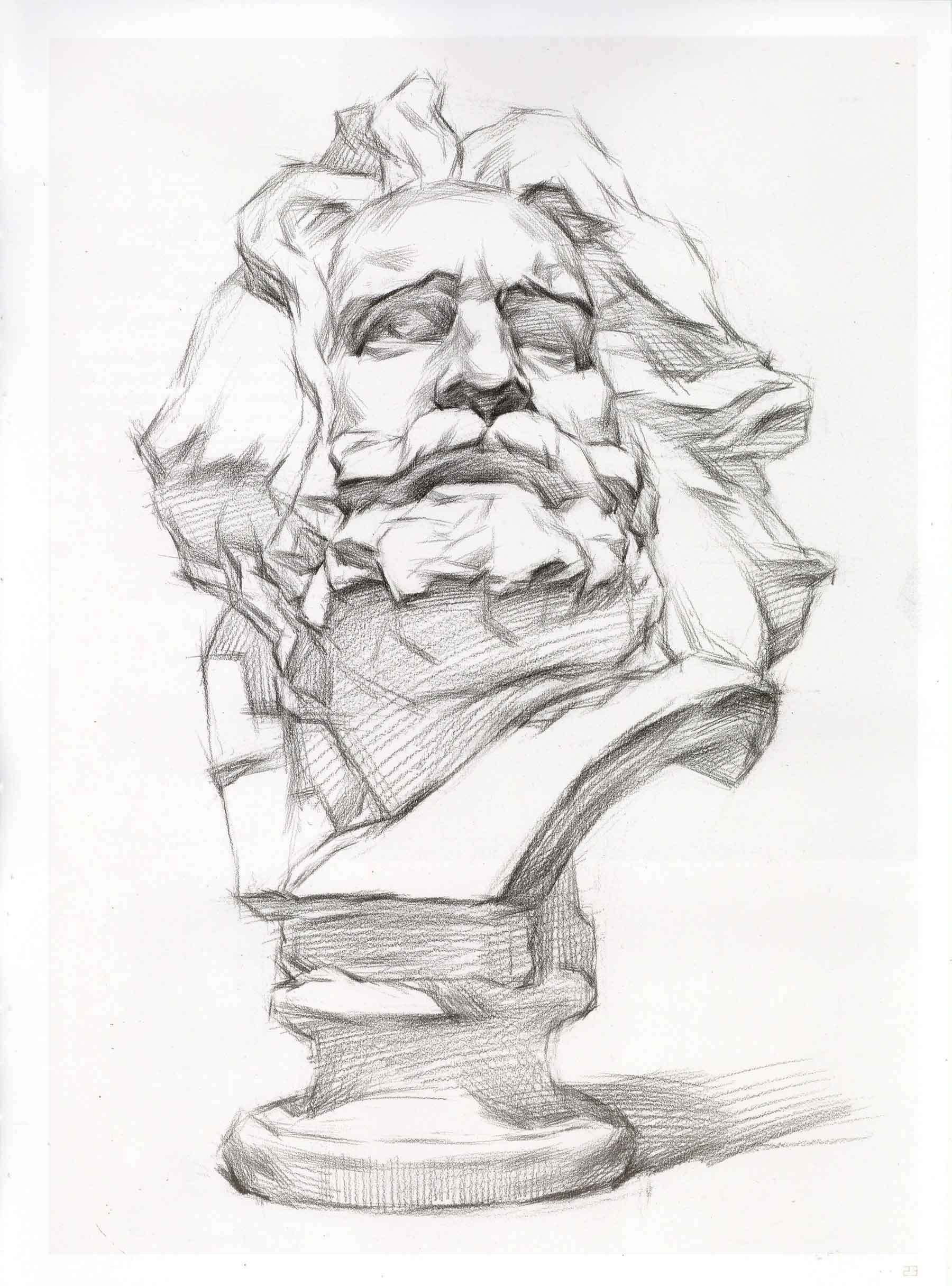 素描最经典的石膏像
